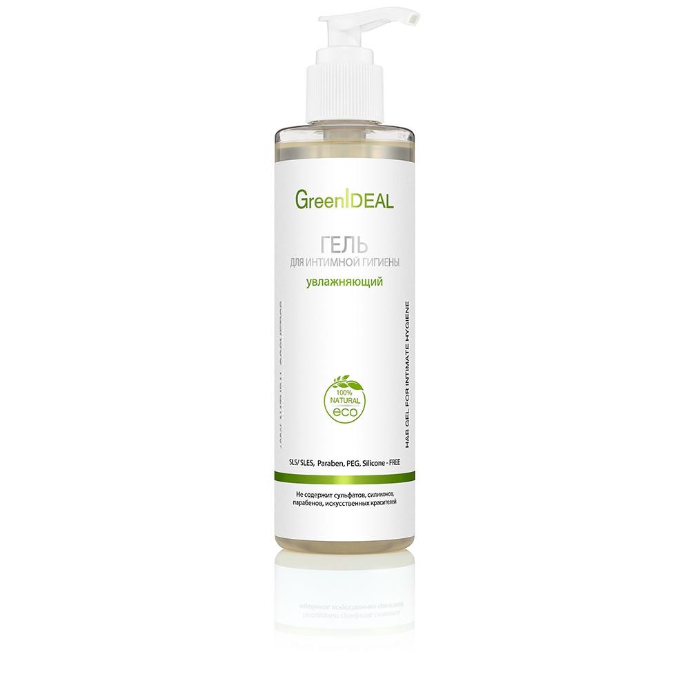 Гель для ухода за кожей GreenIdeal Гель для интимной гигиены увлажняющий (натуральный, бессульфатный)