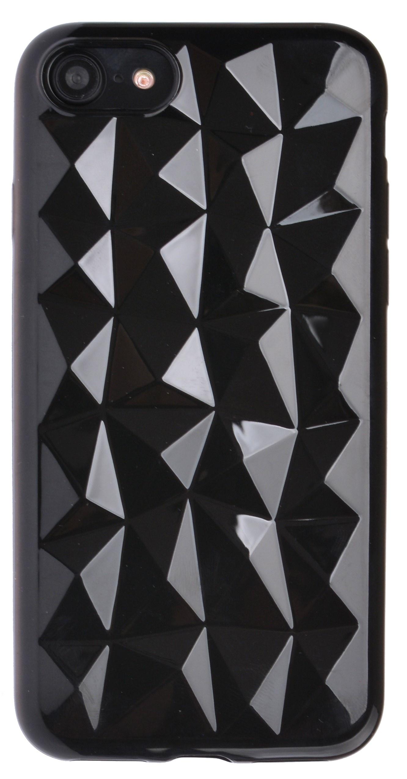 Чехол-накладка Skinbox Diamond для Apple iPhone 7/8, 4630042521025, черный чехол книжка для apple iphone 7 8 sgp valentinus черный