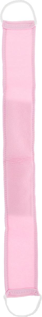 Мочалка Банные штучки, 40111, цвет в ассортименте, 80 х 8 см мочалка металлическая you ll love с держателем цвет бирюзовый диаметр 8 см