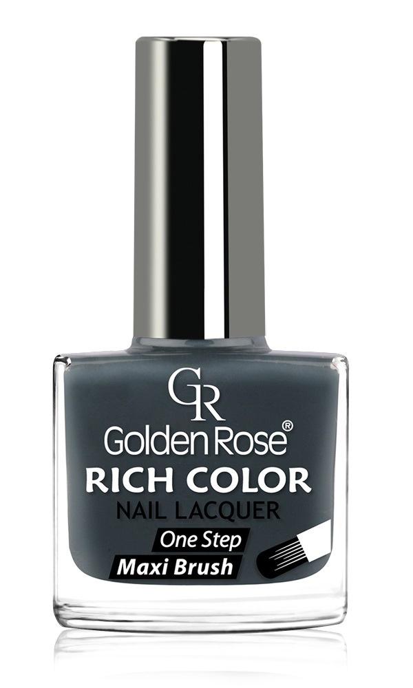 купить Лак для ногтей Golden Rose Rich Color, тон 125, 10.5 мл по цене 220 рублей