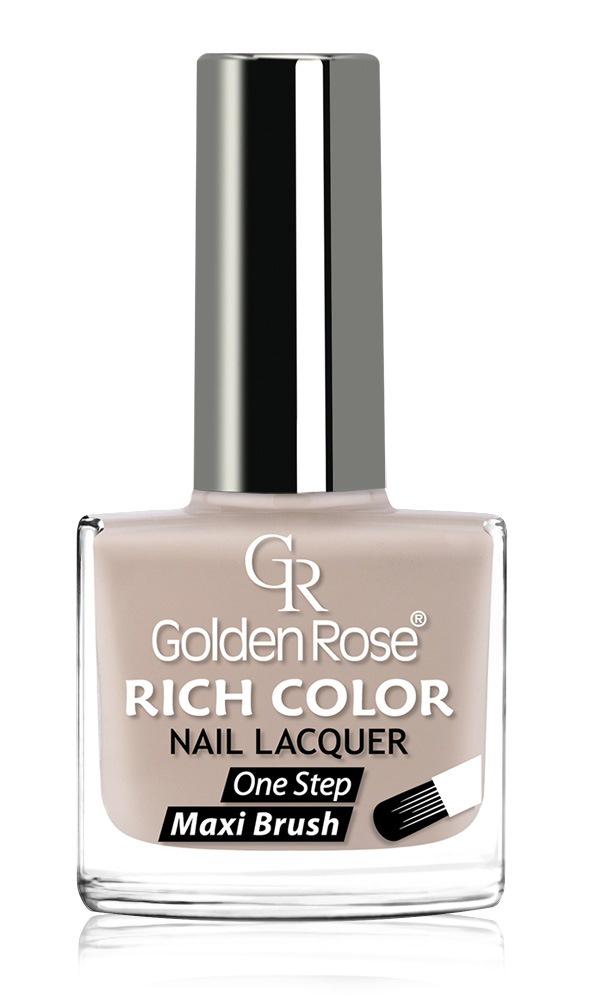 Лак для ногтей Golden Rose Rich Color, тон 132, 10.5 мл