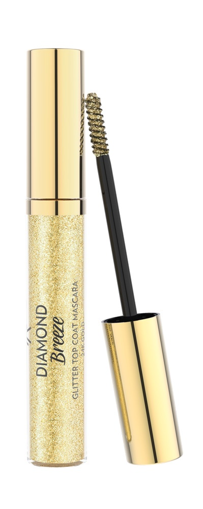 Топ для туши Golden Rose Diamond breeze glitter top coat mascara, GRDBGTCMG, золотистый cnd топ creative play top coat топ 13 6 мл