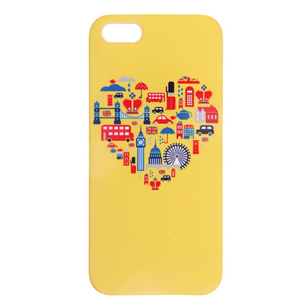 Чехол для сотового телефона Mitya Veselkov IP5.MITYA, IP5.МITYA-034, желтый