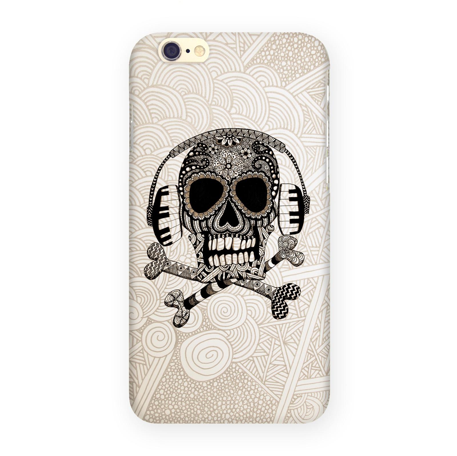 Чехол для iPhone 6 Зентангл Череп IP6.МITYA-292 цена
