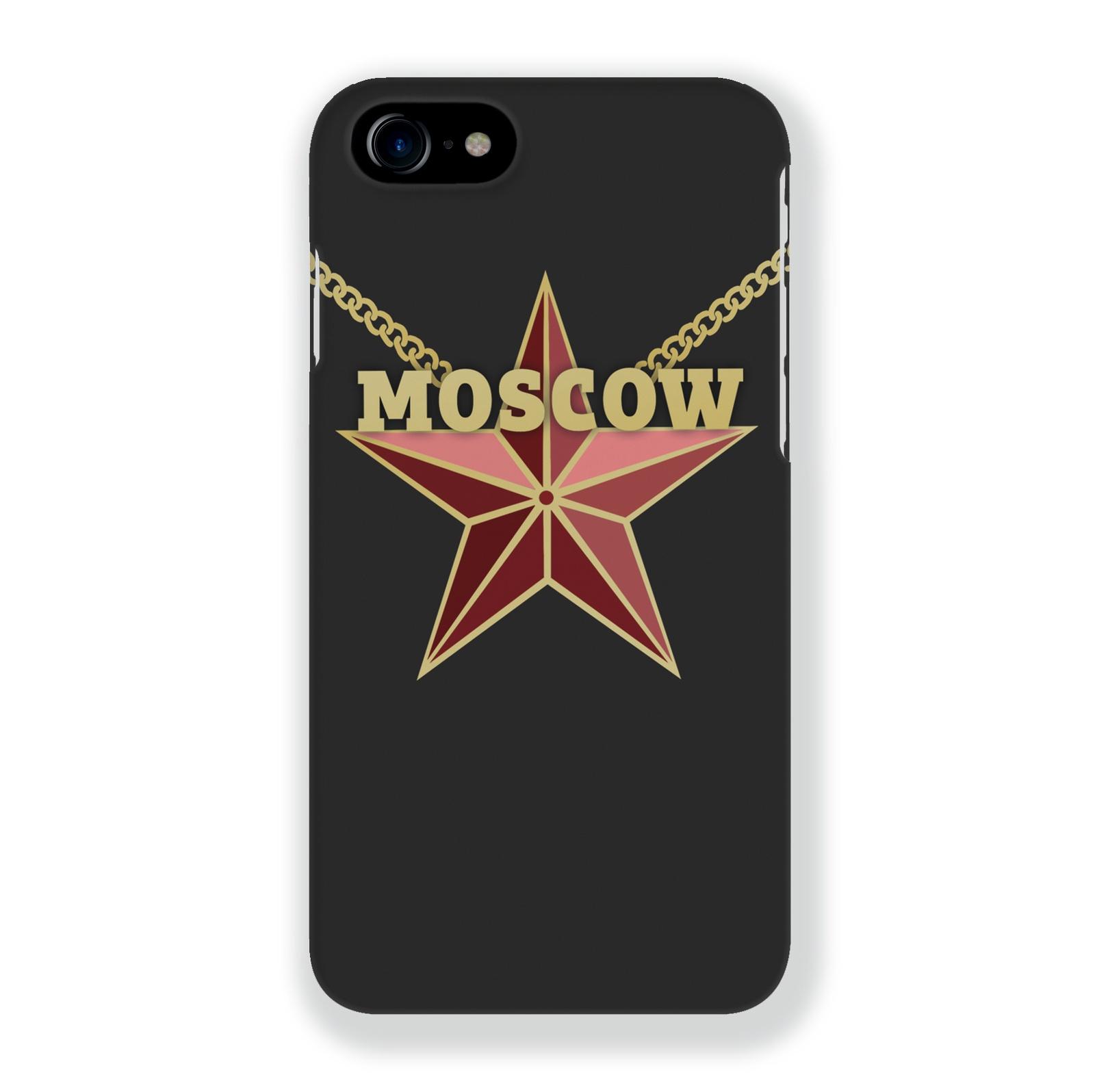 Чехол Mitya Veselkov Moscow Star для iPhone 7/8, IP7.MITYA-011, разноцветный чехол для iphone 5 mitya veselkov птички невелички