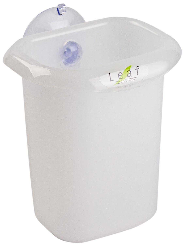 Стакан для ванной комнаты INOMATA, 2111N, белый, 103*68*81 мм