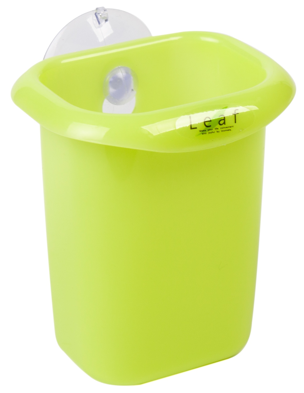 Стакан для ванной комнаты INOMATA, 2111G, зеленый, 103*68*81 мм