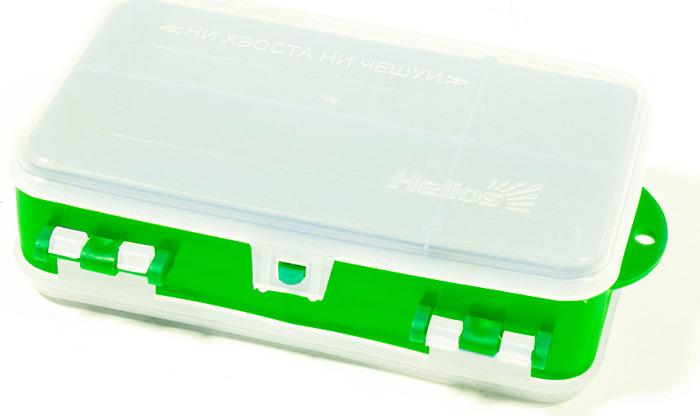 Коробочка для оснастки ТОНАР двухсторонняя 0048942, зеленый