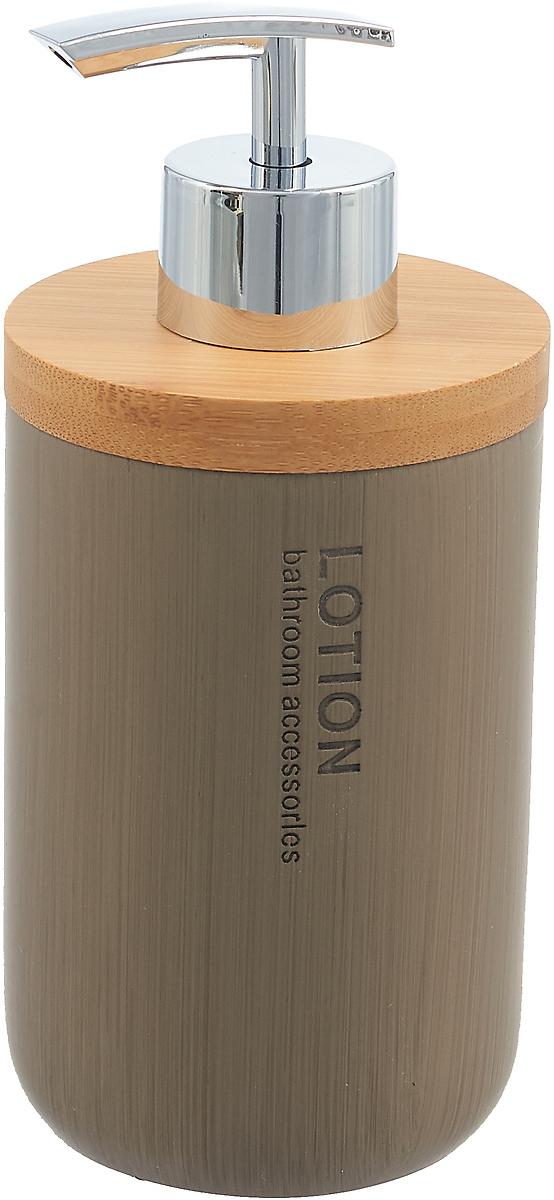 Диспенсер для мыла Wenko Palo, цвет: коричневый ершик для унитаза wenko palo цвет коричневый