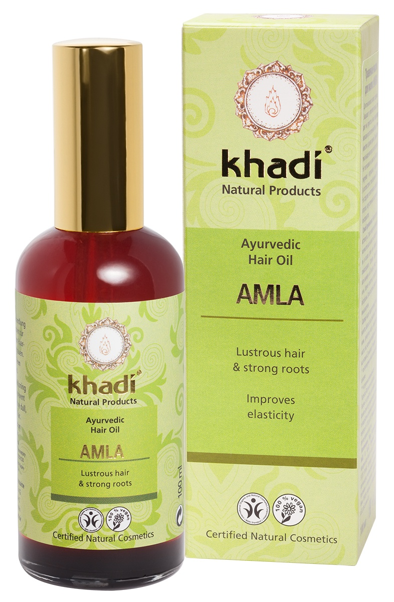 Khadi Naturprodukte Травяное масло для волос АМЛА масло для волос хна розмарин амла indian khadi 200 мл