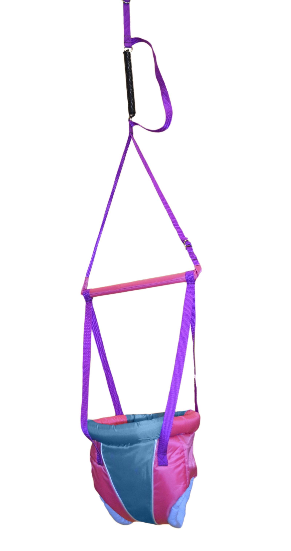 прыгунки Детский тренажер Мирти Прыгунки №5, 4610003450458, розовый, голубой