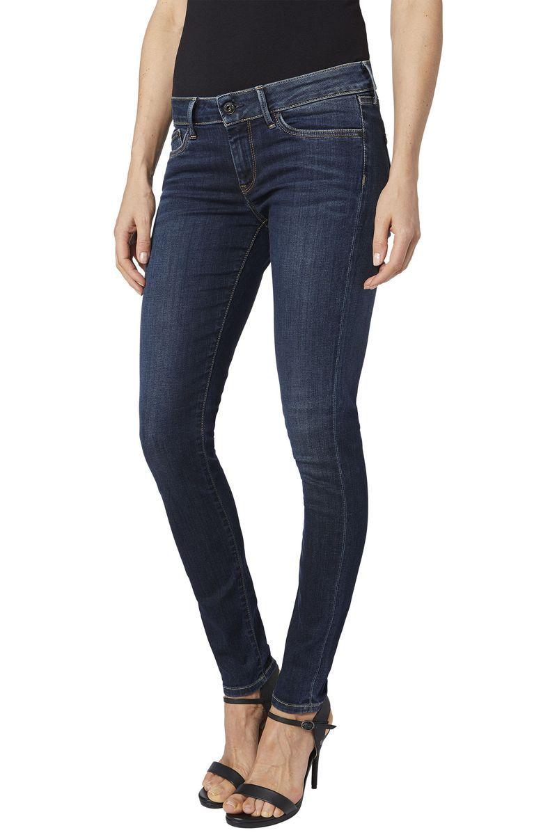 Джинсы женские Pepe Jeans Pixie, цвет: синий. 097.PL200025.H06.000. Размер 25-32 (40/42-32)097.PL200025.H06.000