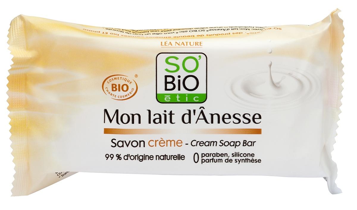 SO BIO etic этик Мыло твердое с ослиным молоком