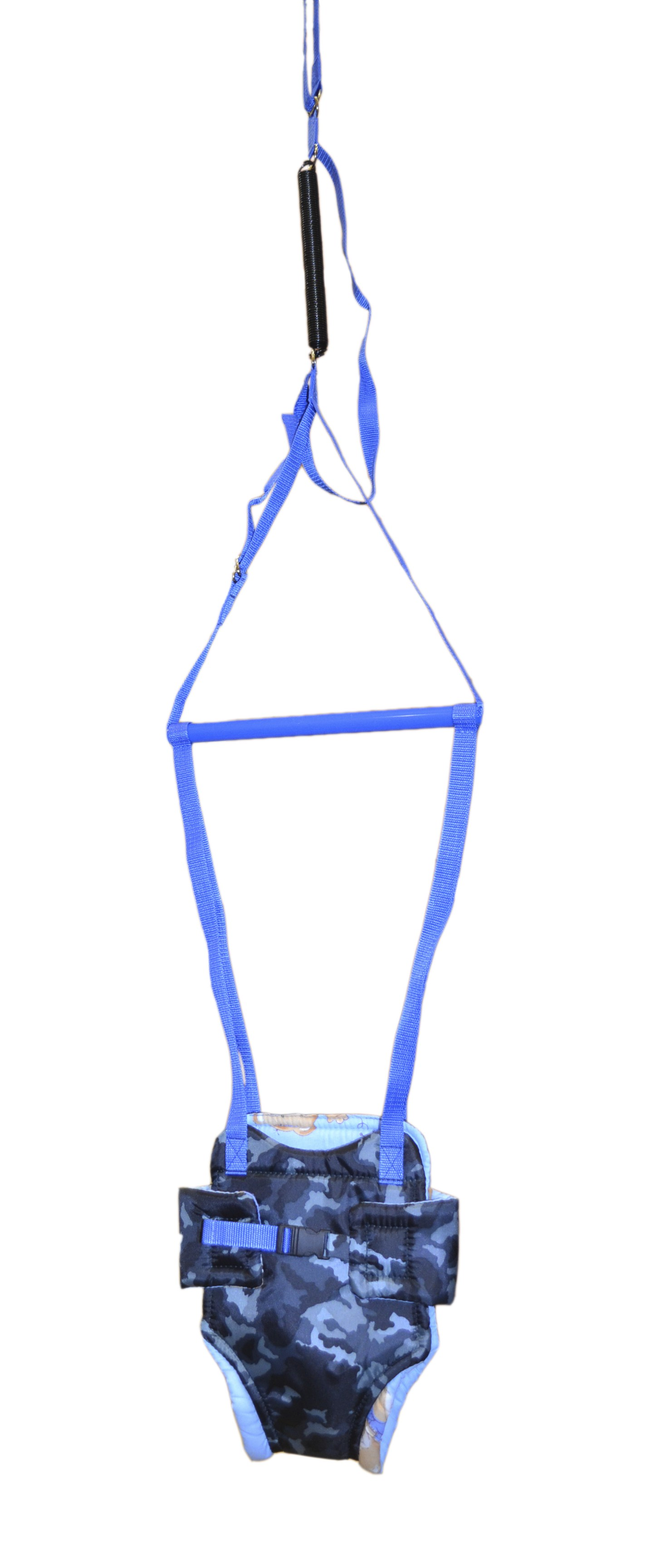прыгунки Тренажер детский Мирти Прыгунки №2, 4610003450779, хаки, синий