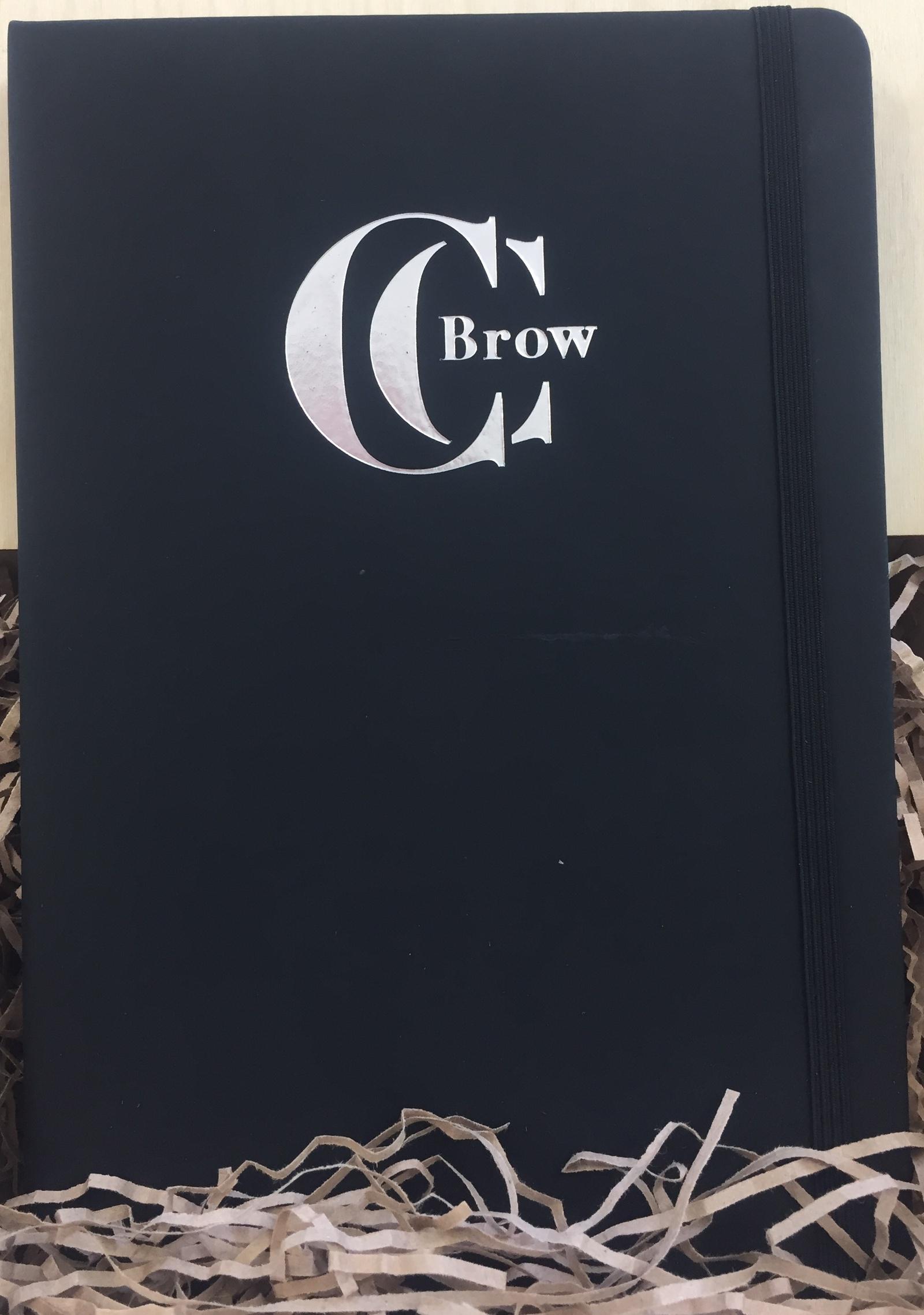 Блокнот CC Brow, 00523, черный cc