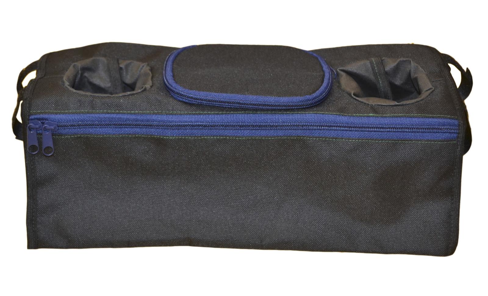 Органайзер-бутылочница для коляски Мирти, 2000020506023, черный муфта tigger warmhands на ручку коляски