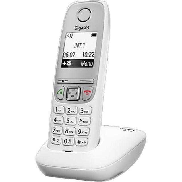 Радиотелефон Gigaset A220 RUS White телефон dect gigaset l410 устройство громкой связи