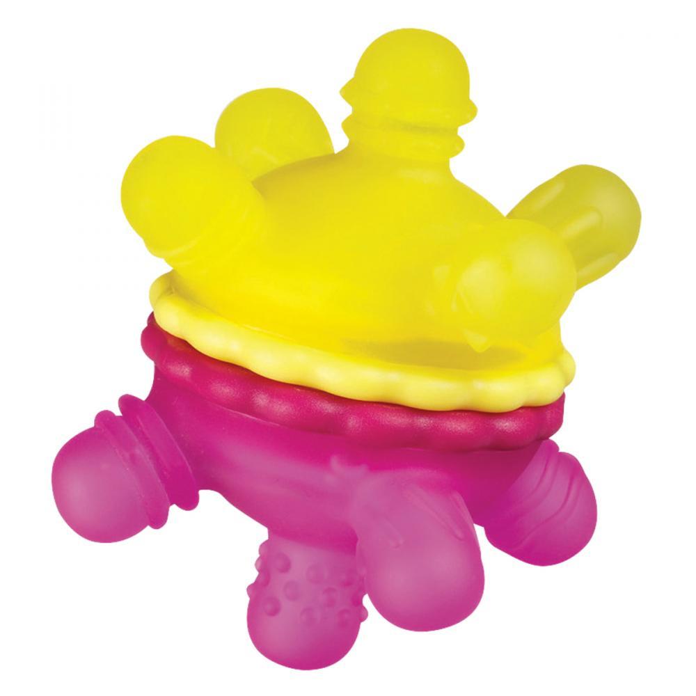 """Игрушка-прорезыватель Munchkin """"Мячик"""", розовый, желтый"""