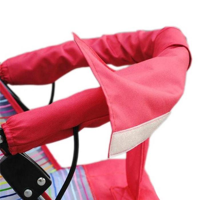 Чехол на ручку для коляски Мирти, 4610003451820, розовый недорого