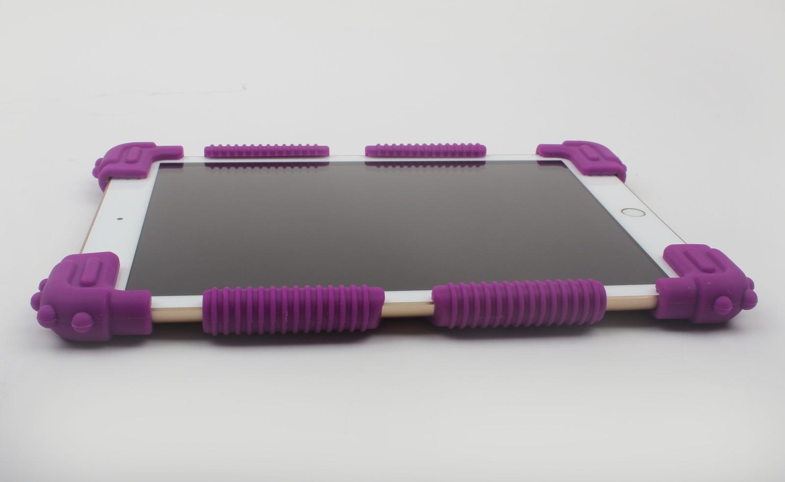 Чехол бампер для планшета TipTop универсальный, 7-9 дюймов, 4605180030890, фиолетовый ноутбук 9 дюймов