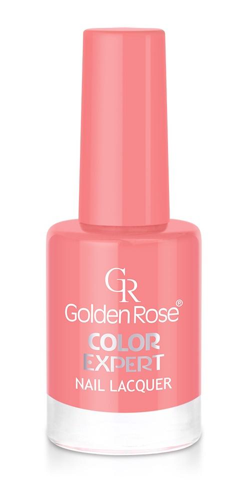 Лак для ногтей Color Expert. Тон 22GRNCEL-22/22Палитра лаков Golden Rose COLOR EXPERT объединяет 145 уникальных глубоких и насыщенных оттенков от нежных акварельных до ярких экстравагантных. Благодаря плоской, мягкой и широкой кисточке из высококачественного материала плотная текстура лака идеально распределяется по всей поверхности ногтевой пластины. В состав лака входят интенсивные пигменты, создающие покрытие максимально насыщенного цвета, отличающееся особенно выразительным глянцем. Раскрасьте будни яркими цветами лаков COLOR EXPERT, превратите самый пасмурный день в праздник, сделайте свою жизнь многогранной. Практически все оттенки представлены на сайте.