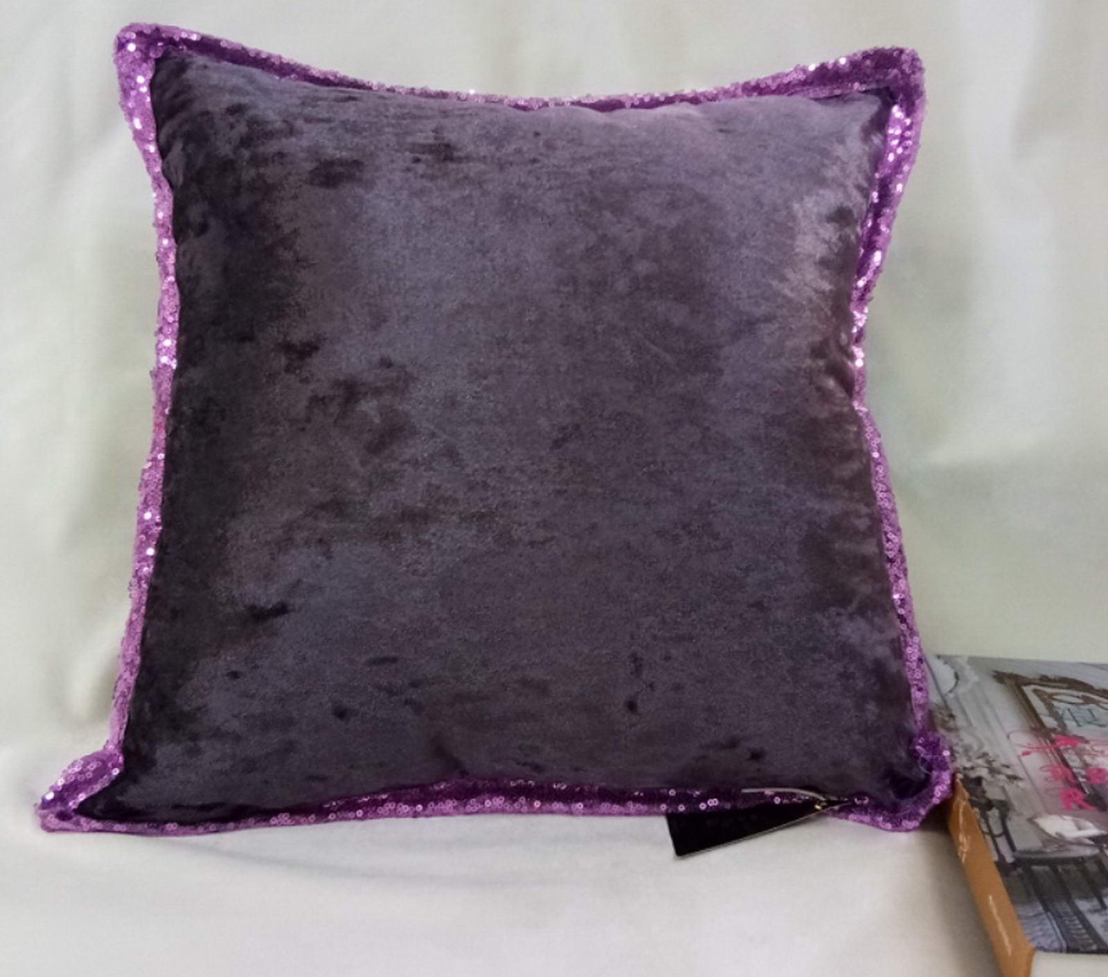 Наволочка Sofi de Marko Клаудия, К08, фиолетовый, 45х45 см