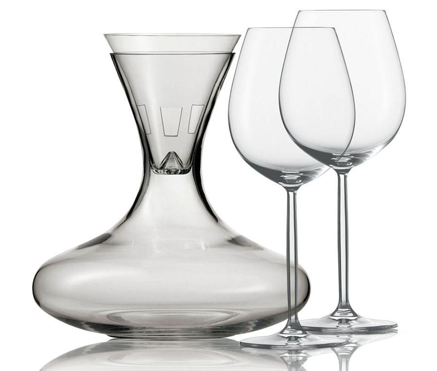Набор подарочный: декантер, воронка и 2 бокала для вина 613 мл, серия Diva, 106 085, SCHOTT ZWIESEL, Германия цена