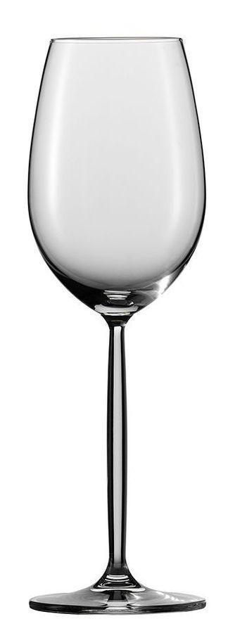 Набор бокалов для белого вина Schott Zwiesel Diva 104 097-6, 300 мл, 6 шт schott zwiesel набор стопок для водки paris 40 мл 6 шт 572 702 6 schott zwiesel