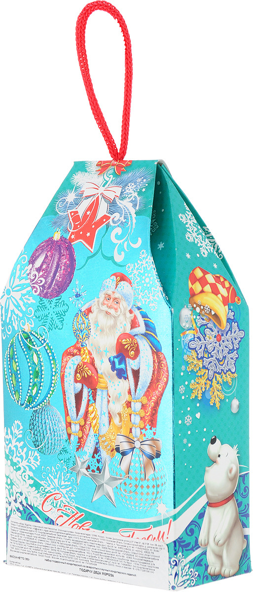 Сладкий новогодний подарок Подарки Деда Мороза, 350 г