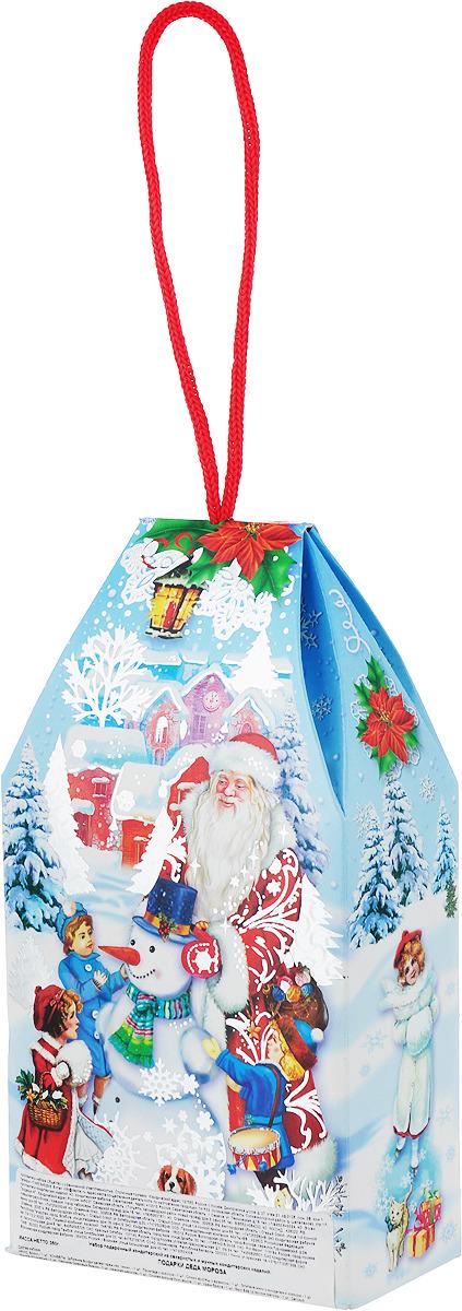 Сладкий новогодний подарок Подарки Деда Мороза, голубой, 350 г
