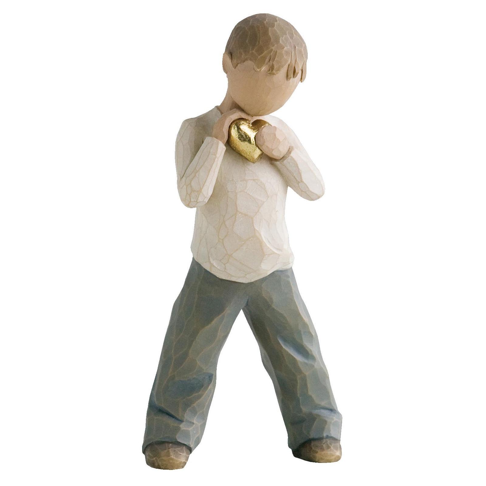 Фигурка декоративная Willow Tree статуэтка миниатюрная, интерьерная, 26142, Искусственный камень