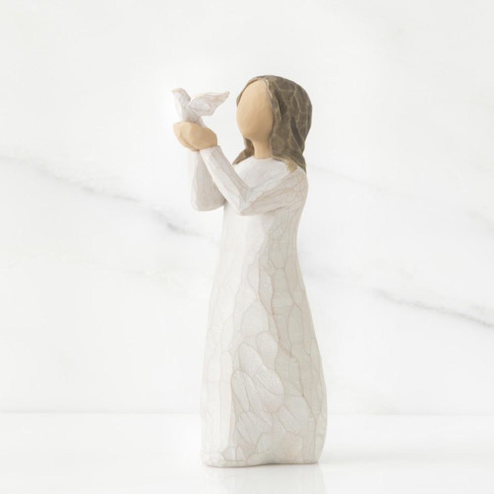 Фигурка декоративная Willow Tree статуэтка миниатюрная, интерьерная, 27173, Искусственный камень