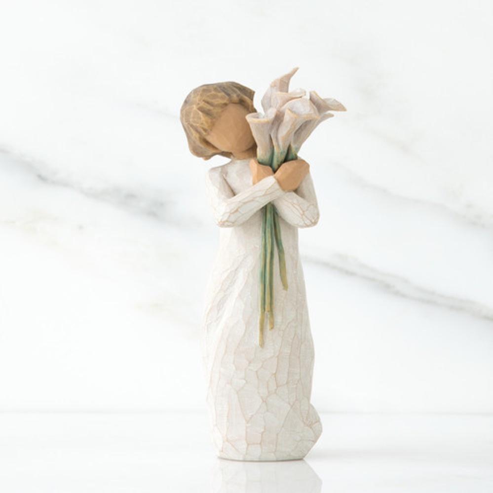 Фигурка декоративная Willow Tree статуэтка миниатюрная, интерьерная, 26246, Искусственный камень