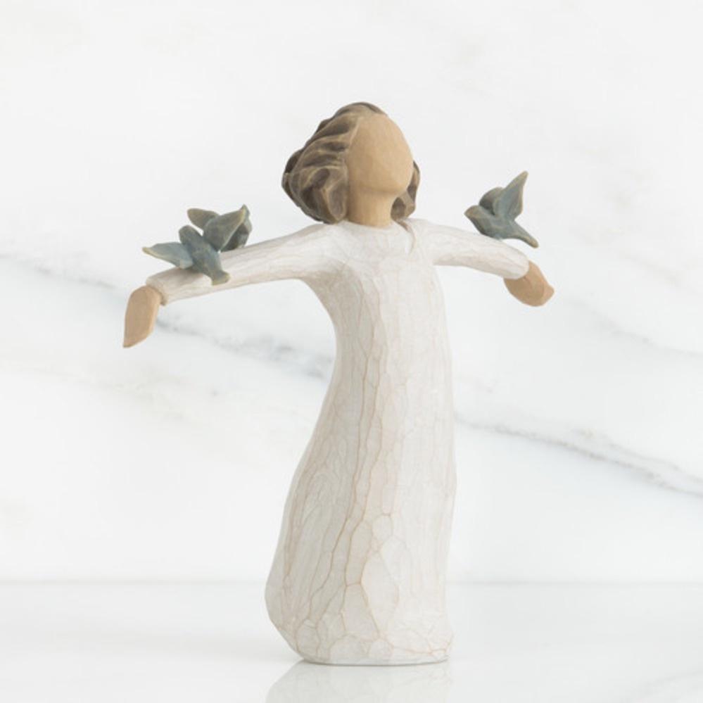 Фигурка декоративная Willow Tree статуэтка миниатюрная, интерьерная, 26130, Искусственный камень