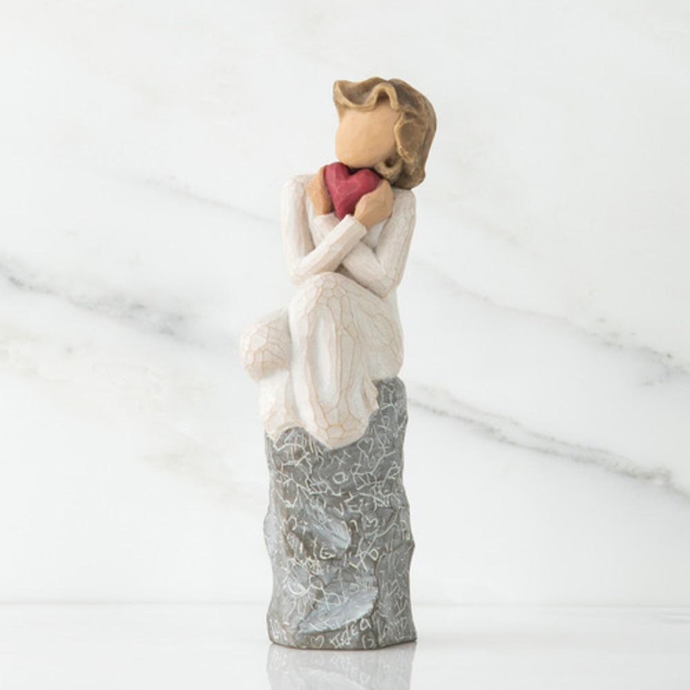Фигурка декоративная Willow Tree статуэтка миниатюрная, интерьерная, 27180, Искусственный камень