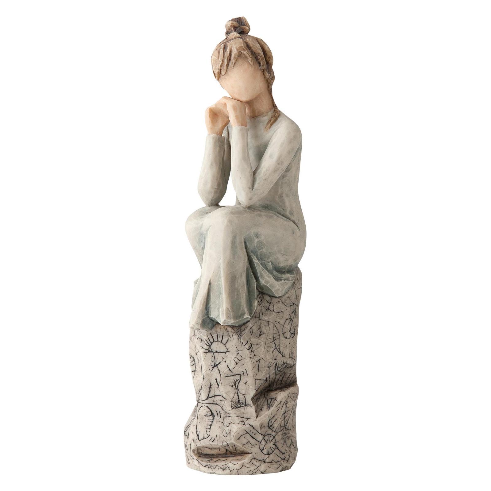 Фигурка декоративная Willow Tree статуэтка миниатюрная, интерьерная, 27537, Искусственный камень