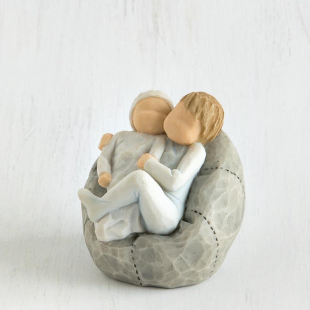 Фигурка декоративная Willow Tree статуэтка миниатюрная, интерьерная, Искусственный камень27703Фигурка декоративная. Willow Tree. Мой дом. Размер 14 см.