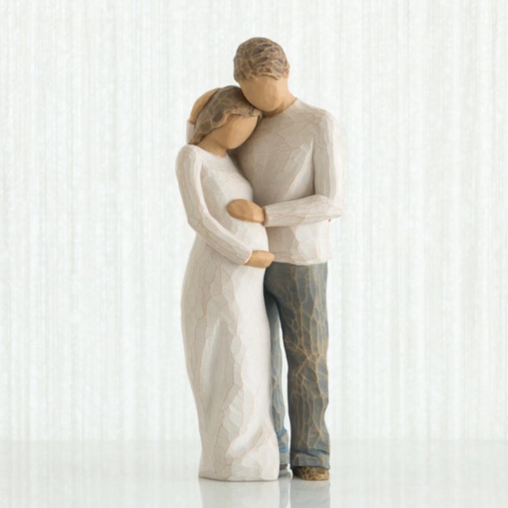 Фигурка декоративная Willow Tree статуэтка миниатюрная, интерьерная, Искусственный камень