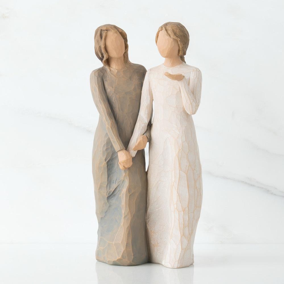 Фигурка декоративная Willow Tree статуэтка миниатюрная, интерьерная, Искусственный камень tree