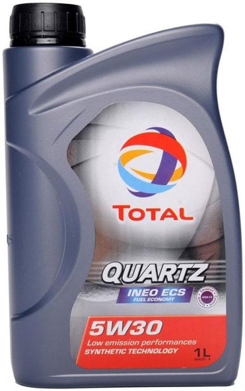 Моторное масло Total Quartz Ineo ECS 5w-30, 1 л total quartz ineo ecs 5w 30 4 л