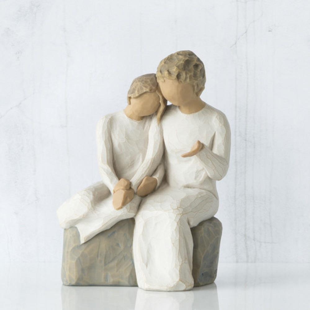 Фигурка декоративная Willow Tree статуэтка миниатюрная, интерьерная, 26244, Искусственный камень