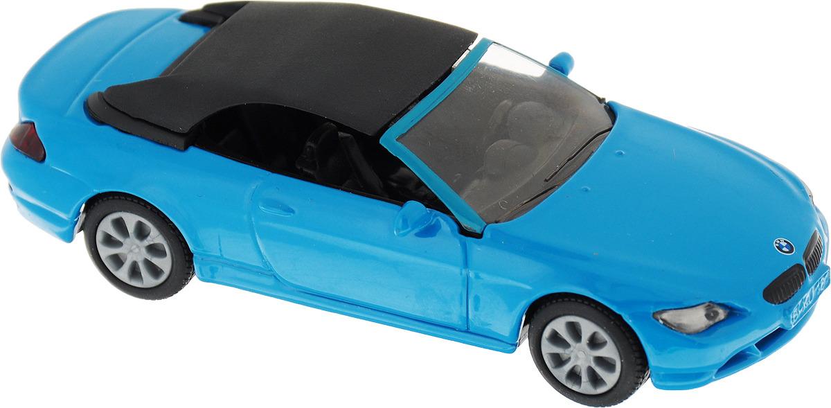 Модель автомобиля Siku BMW 645i Cabrio, 1007, голубой игрушка siku бмв 645i кабриолет 8 9 3 8 2 4см 1007