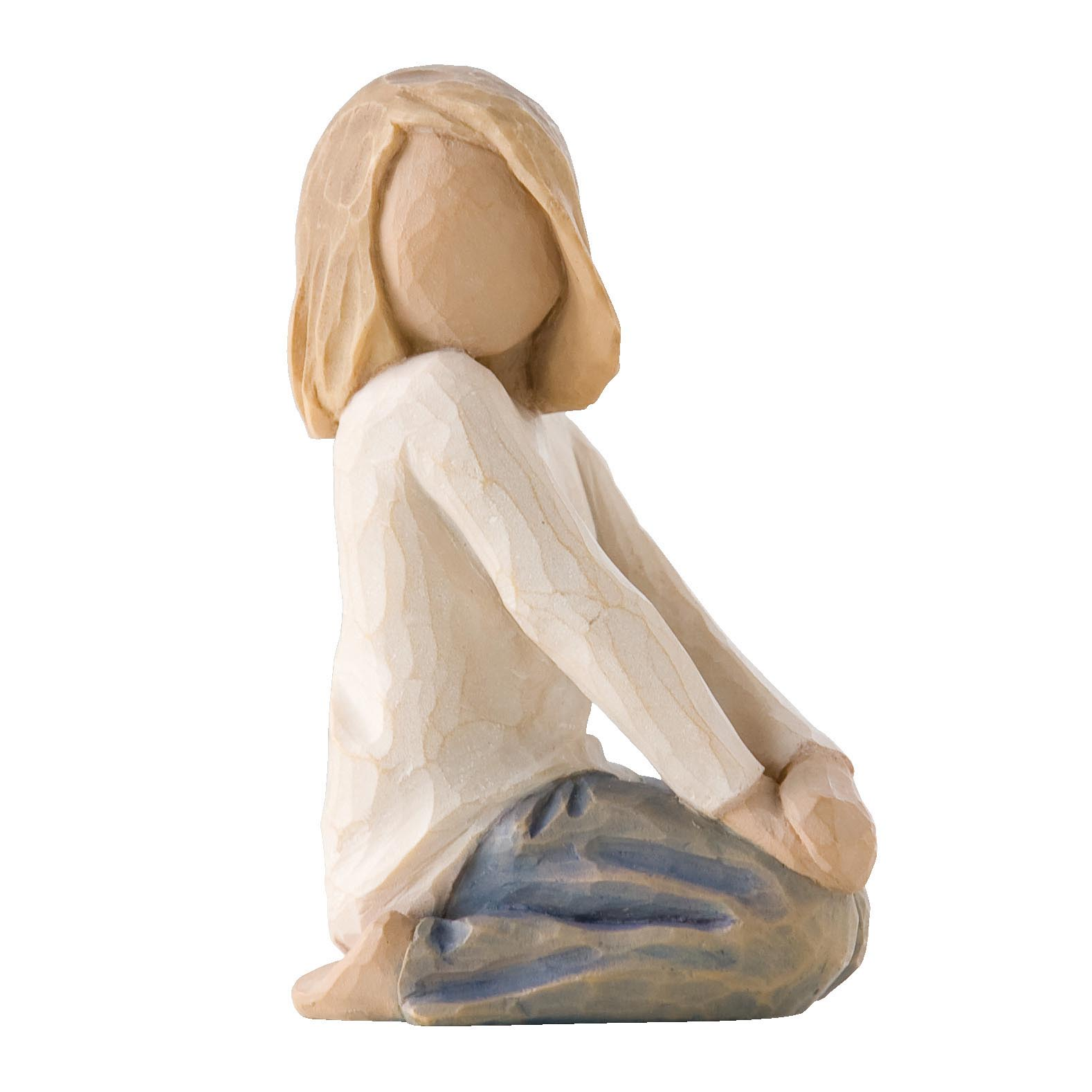 Фигурка декоративная Willow Tree статуэтка миниатюрная, интерьерная, Искусственный камень декоративная фигурка статуэтка статуэтка karavan 4104