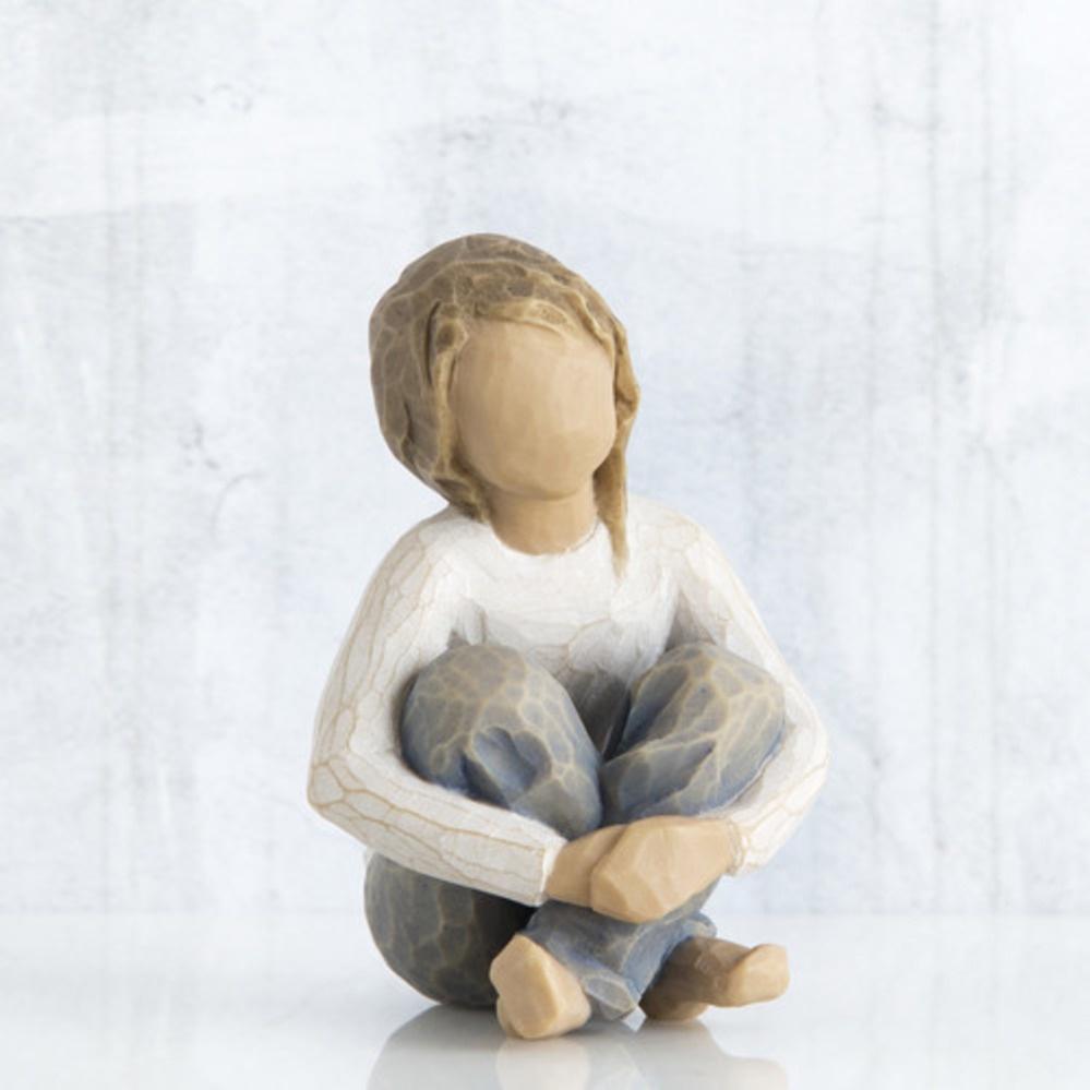 Фигурка декоративная Willow Tree статуэтка миниатюрная, интерьерная, 26224, Искусственный камень