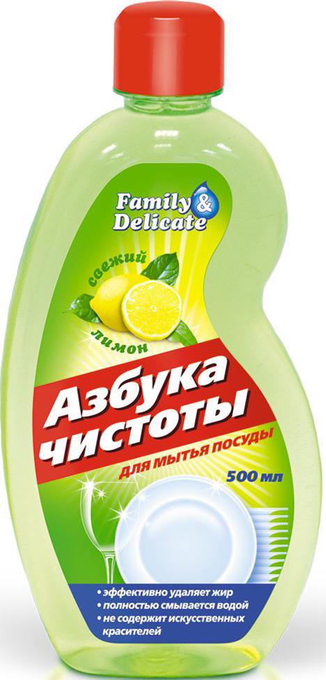 Средство для мытья посуды Азбука чистоты