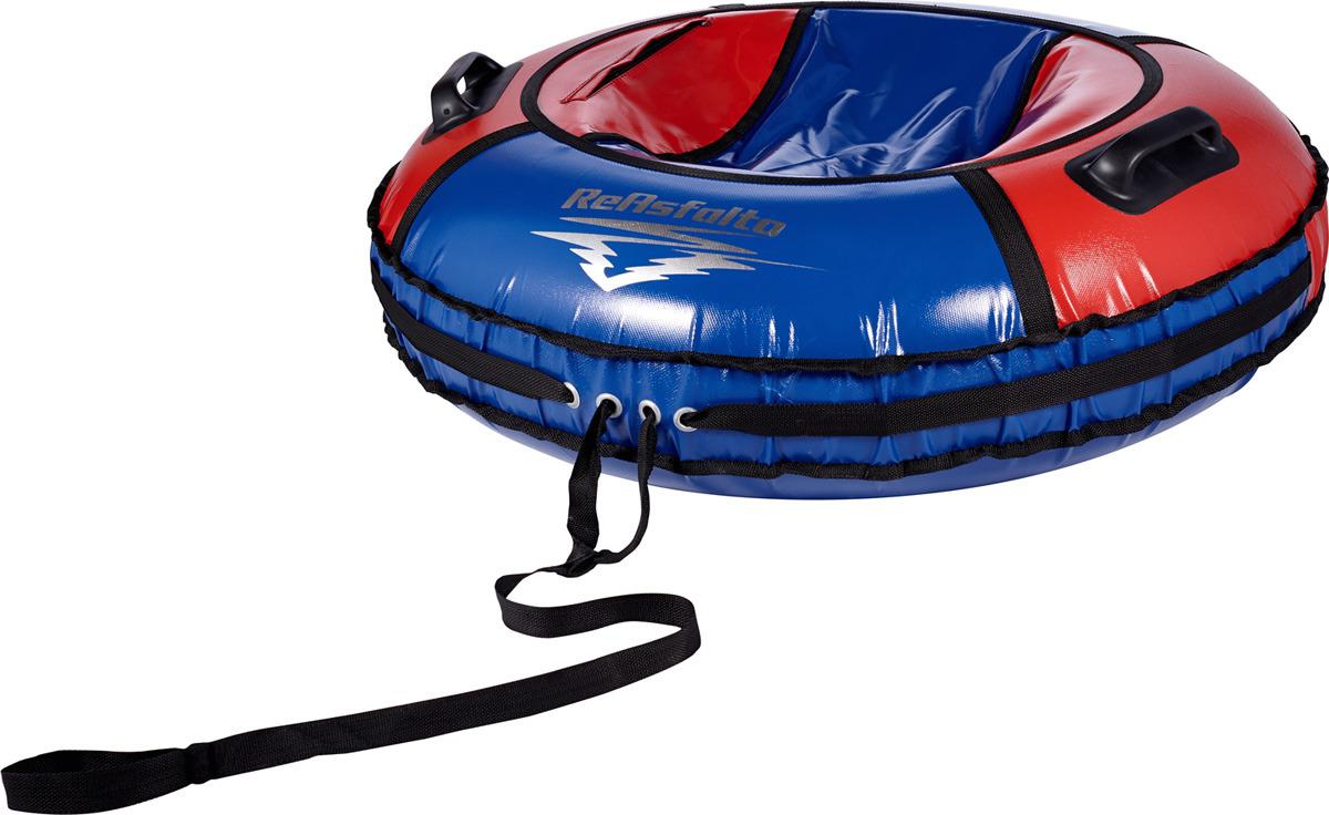 Тюбинг ReAsfalto Rodeo, 419129, красный, синий, диаметр чехла 100 см тюбинг hubster ринг pro во4785 1 красный синий диаметр 90 см