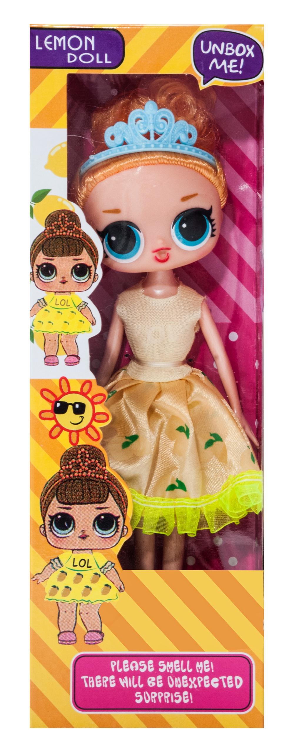 Кукла Castlelady ароматизированная лимон