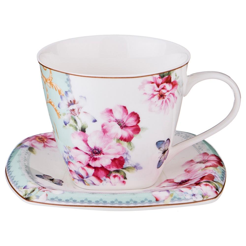 "Чайная пара Lefard ""Полевые цветы"", LF-165/419, 220 мл"