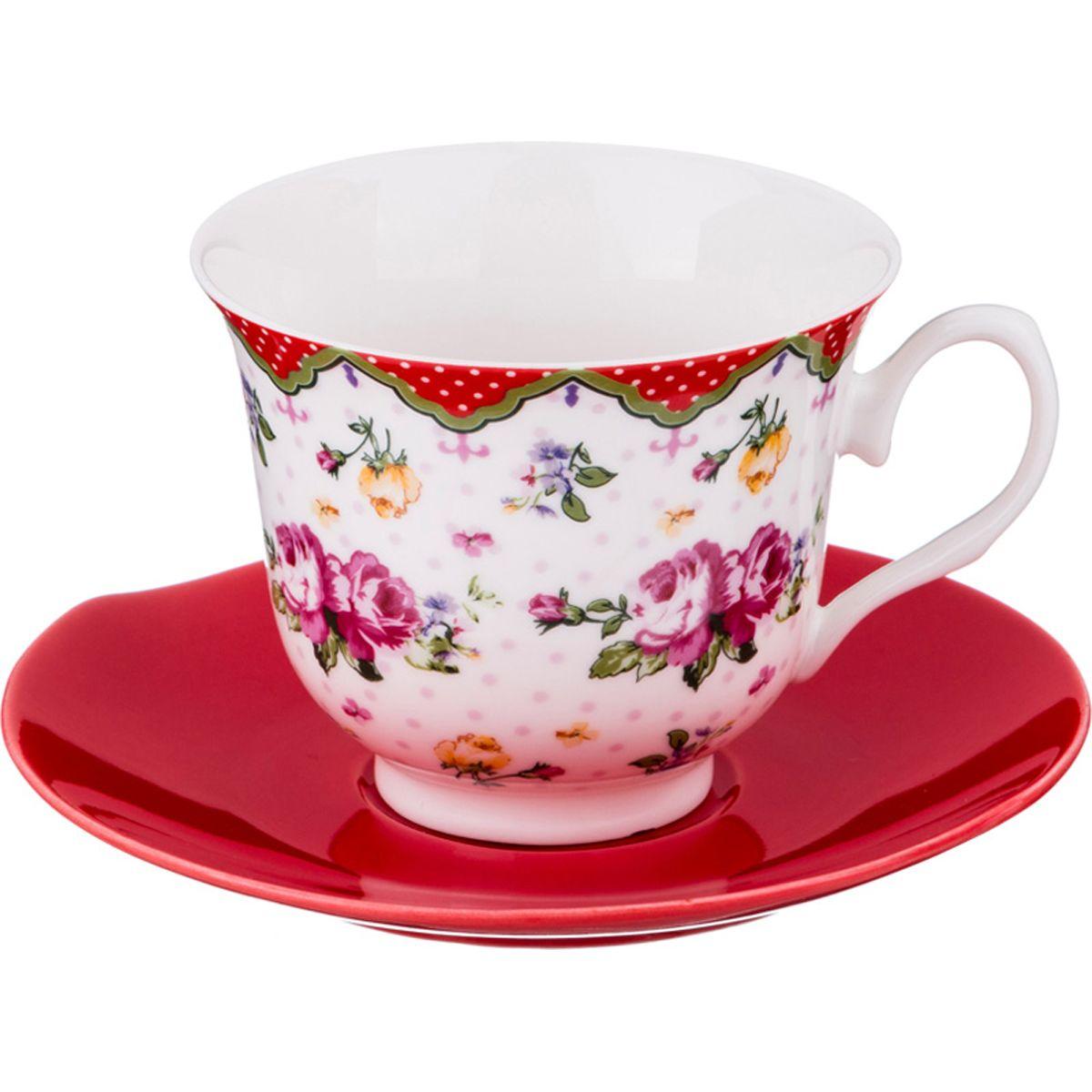 """Набор чайный Lefard """"Полевые цветы"""", LF-165/382, 220 мл"""