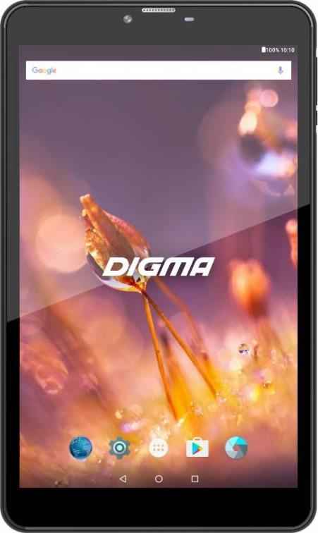 8 Планшет Digma Citi 8527 Wi-Fi + LTE, 16 GB, черный планшет digma citi 8531 3g 8 гб графит черный